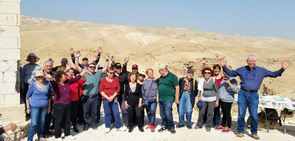 Gil-On Club visits ancient site