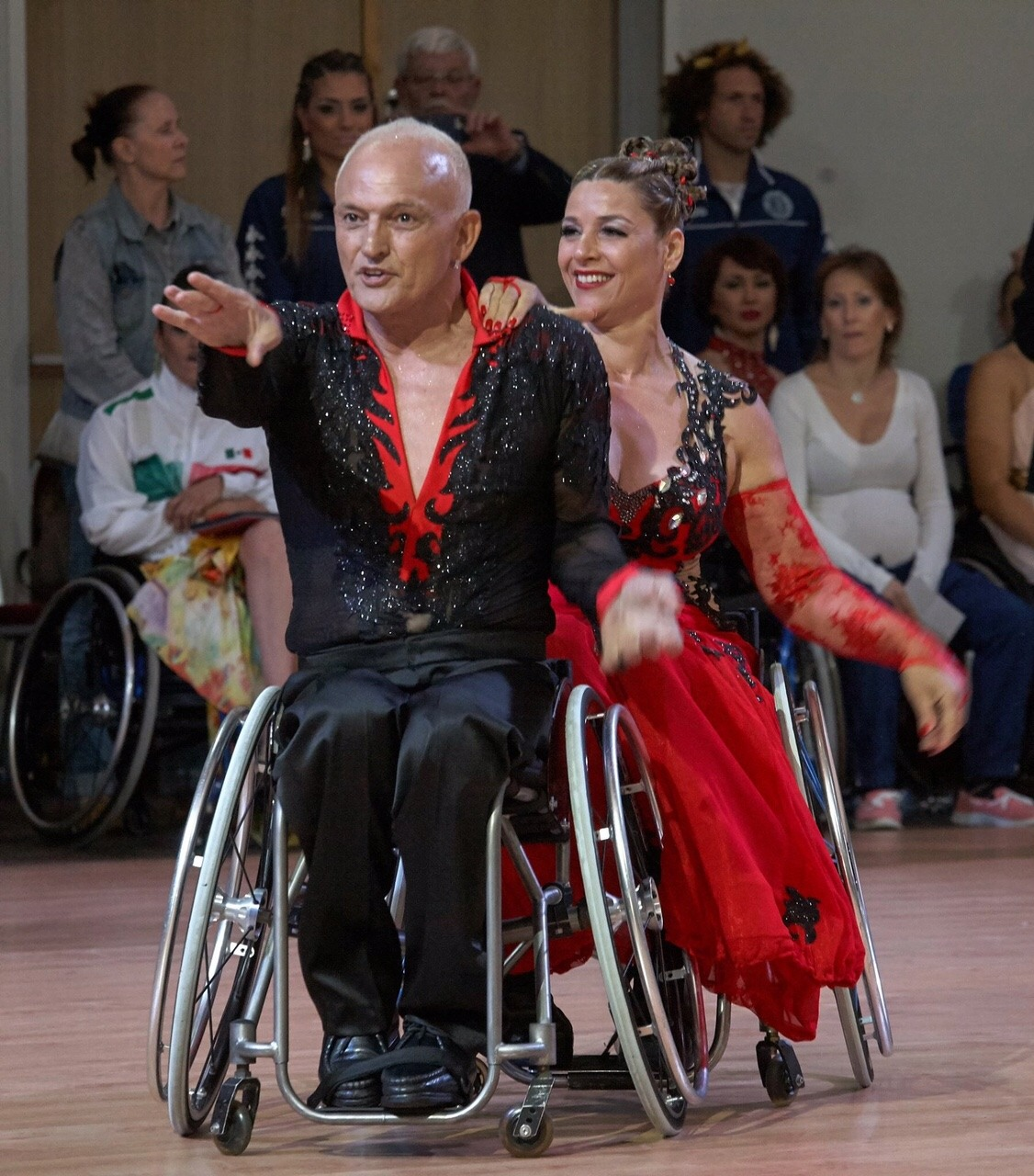 Wheelchair Dancers Sami and Maytal