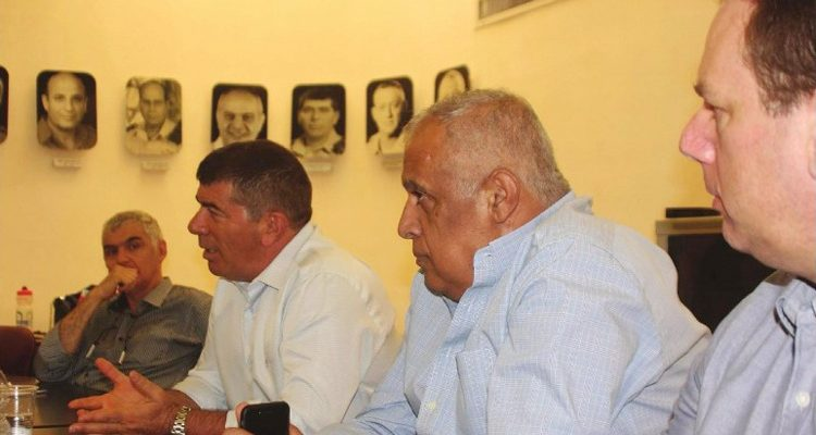 Meeting of international delegation