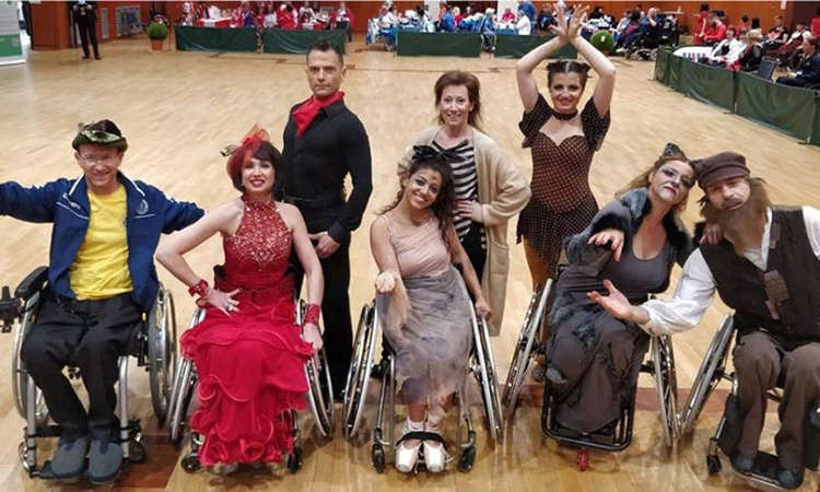 Para-Dance-Team in Germany May 2018