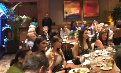Attendees of the Boca Raton gathering.