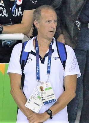 Ron Bolotin at a competition.