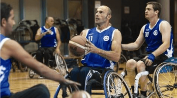 Roei Ben Tolila - wheelchair basketball