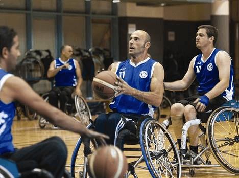 Roei Ben Tolila - wheelchair basketball