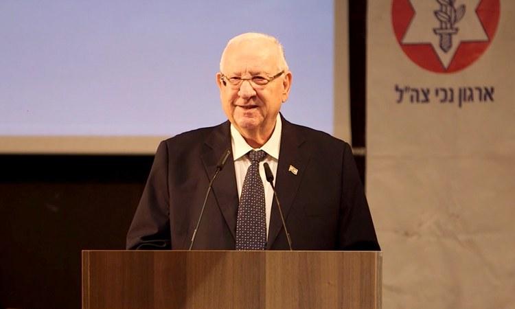 President of Israel Reuven Rivlin Visits Beit Halochem on National Day Ceremony