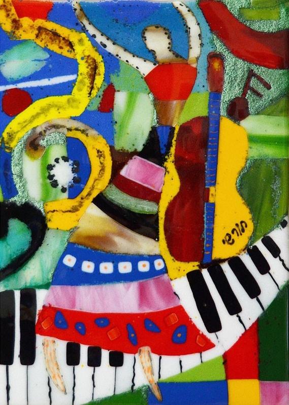 """Piano"" Aviv Horshi, member of Beit Halochem Tel Aviv."